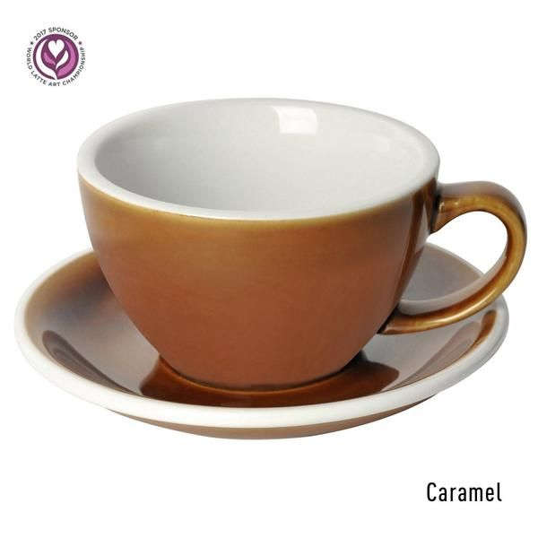 Egg 10oz Cafe Latte Cup Saucer 3 Potters Box Of 6 Loveramics Usa Latte Cups Cafe Latte Saucer