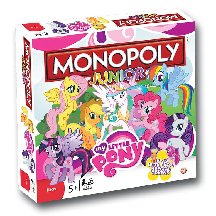 For Charlotte  My Little Pony Junior Monopoly Game | Toys R Us Australia