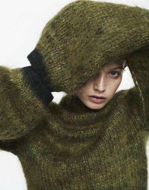 knitGrandeur: Olive is the New Black