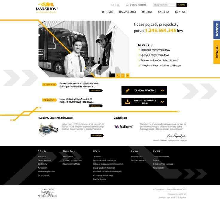 Marathon Logistics. For more visit: http://be.net/mareklasota