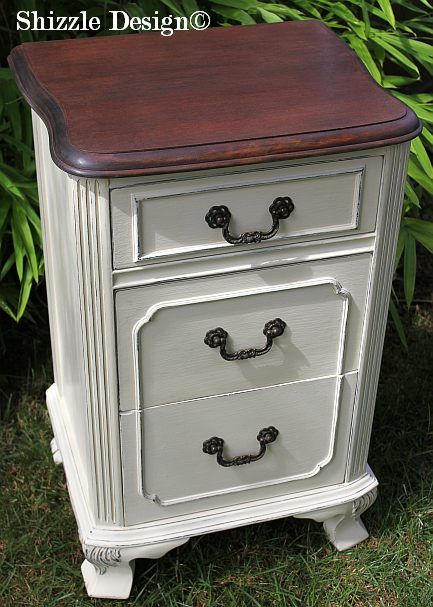 Shizzle Design Michigan  americanpaintcompany white french blue Home Plate  Dollar Bill chalk clay paint bedroom   Apartment FurnitureAntique. 17 best Chalk Painted Night Stands images on Pinterest   Furniture
