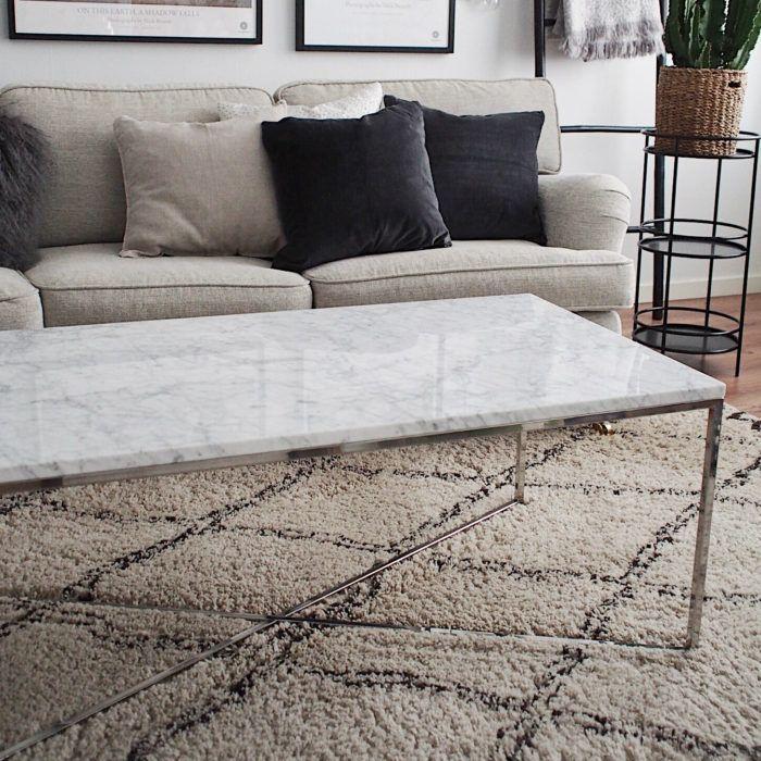 exklusivt marmorbord, soffbord marmor