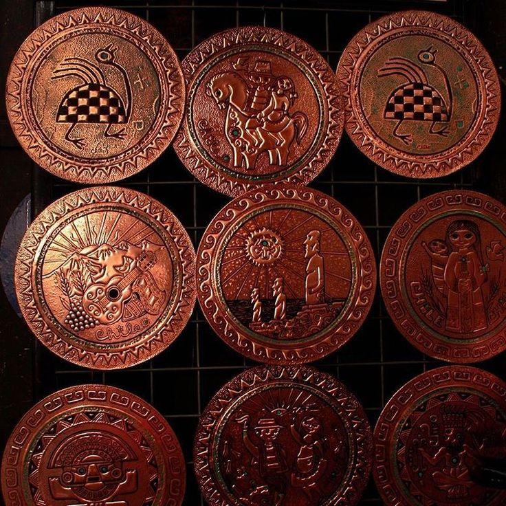 Artesanía en cobre.