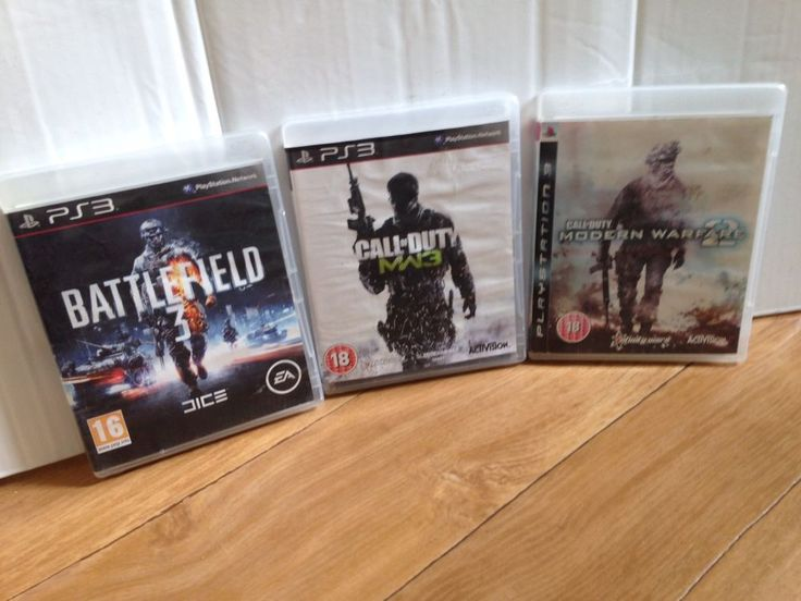 PS3 Bundle, Call Of Duty MW3/ Modern Warfare 2/ Battlefield 3 Games.