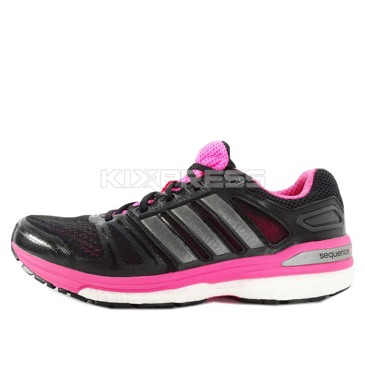 Adidas Supernova Sequence 7 W [M29717] Running Black/Pink