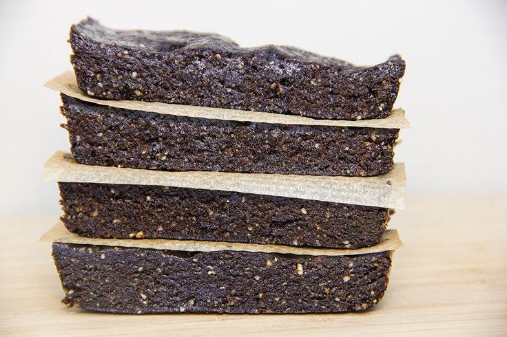 Шоколадные протеиновые батончики с мятой