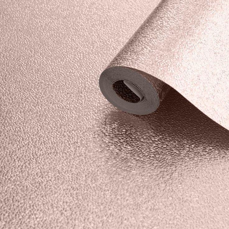 Muriva Wallpaper | Couture Amelia Rose Gold Metallic | 701431