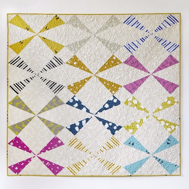 240 best Thoroughly Modern Quilts images on Pinterest Quilting ideas, Patchwork quilting and ...