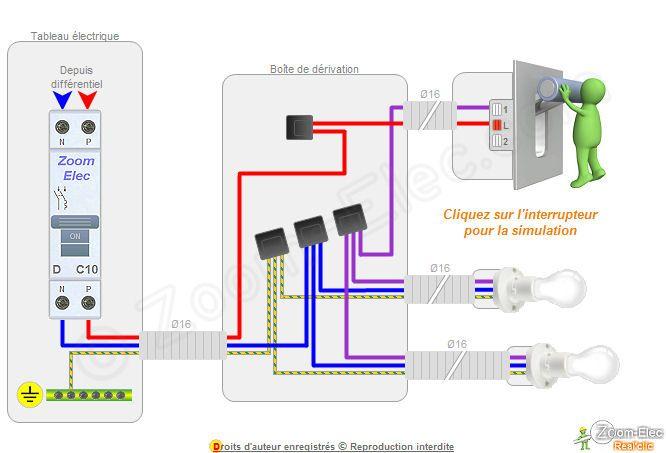 Comment brancher un interrupteur électricité Pinterest Comment