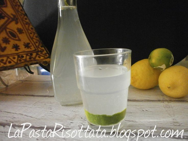 La Pasta Risottata: Limonata allo zenzero-Limonada al jengibre
