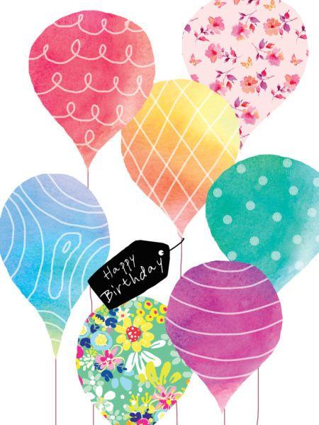 Liz Yee - Birthday Balloons