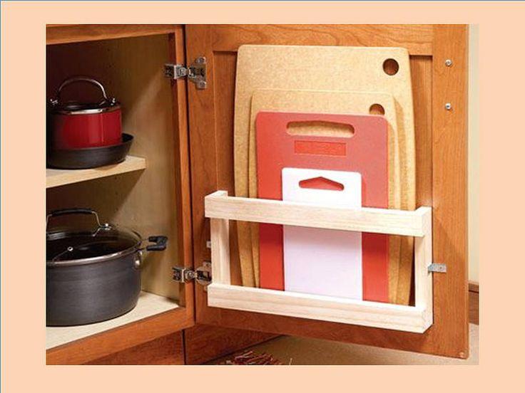 Casas amp te dice c mo puedo ordenar las tablas de picar for Como ordenar la cocina