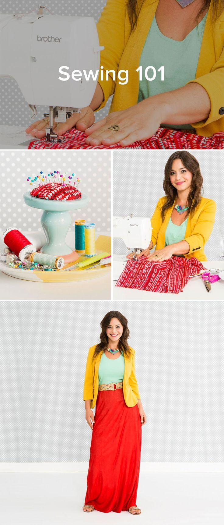 Sewing 101 for those of you who want easy to follow diy tutorials check out this Class from Brit Co. You get a fabulous pattern, video lessons and helpful technique. Learn how to sew! Ideas for crafts to make and sell