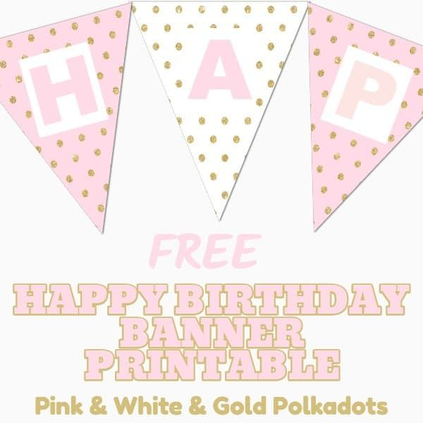 Free Happy Birthday Banner Printable 16 Unique Banners For Your Party Parties Made Personal In 2020 Birthday Banner Free Printable Happy Birthday Banner Printable Free Happy Birthday Banner Printable