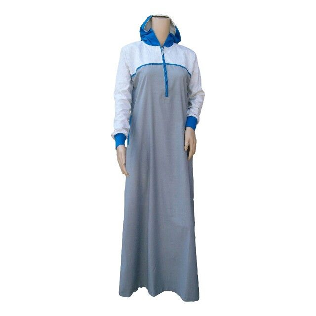 Women's RAMADAN COLLECTIONS NOW AVAIABLE Design 0345 Colours: Grey & Blue with 2 side Pockets, Fabric: Polyester Viscose Size 50 to 62  Available @ www.kufnees.co.za R600 Incl. Shipping Around RSA limited stock, before disappoint place your order!