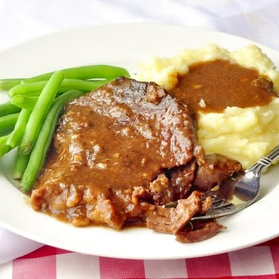 Stewed Steak - a PERFECT slow cooked winter weekend comfort food meal. Simple home cooking was never better.