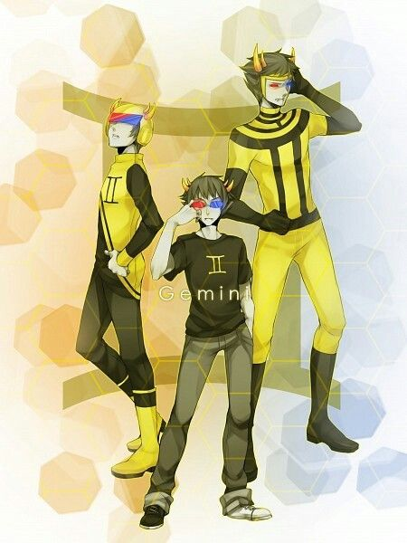 WHY COULDN'T I BE A GEMINI WAAAHHH SOLLUX IS MY FAAAVVEE *crycrycry* <<< IM GEMINI YAS SOLLUX :D