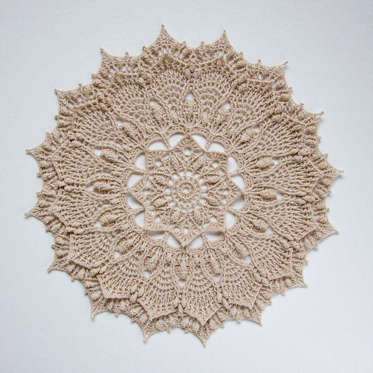 Mejores 77 imágenes de Crochet Lace en Pinterest   Tapetes de ...