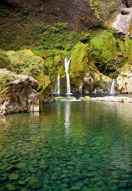 Saltos de Huilo Huilo, Region De Los Rios, Chile