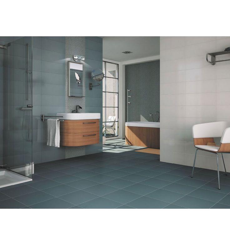 Färgat - Kakelmonster | Allure Blå 20x50