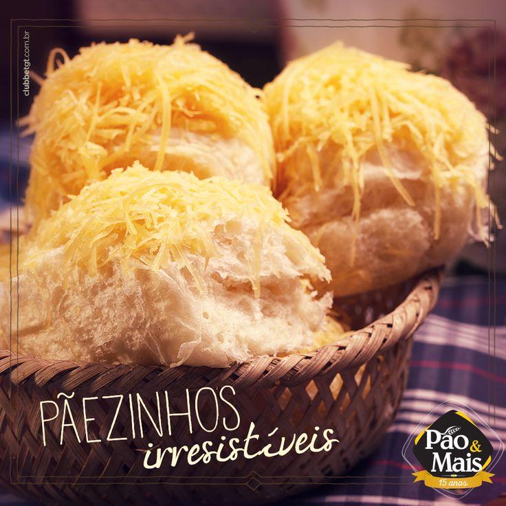 Quem come vira fã. Não dá para resistir aos pãezinhos da Pão&Mais. #pãodelícia
