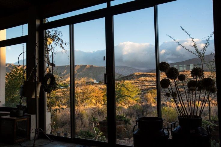 Wide open spaces at Karoo View Cottages Prince Albert. Accommodation in Prince Albert.