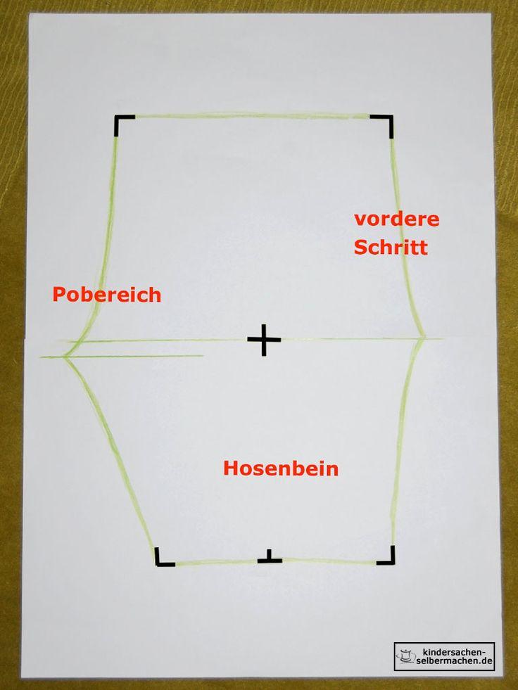 Pumphose - Anleitung - Schnittmuster - 05