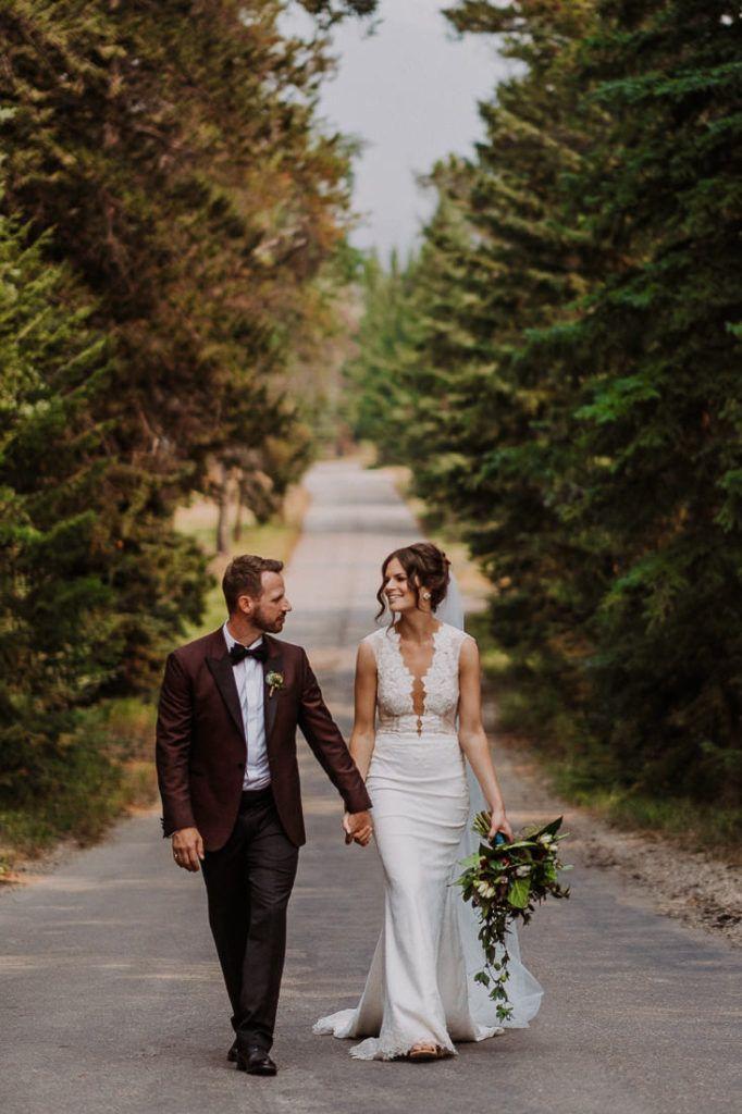 Carly and Monte – Fairmont Jasper Park Lodge Wedding – Mountain Wedding – Carey Nash Photography