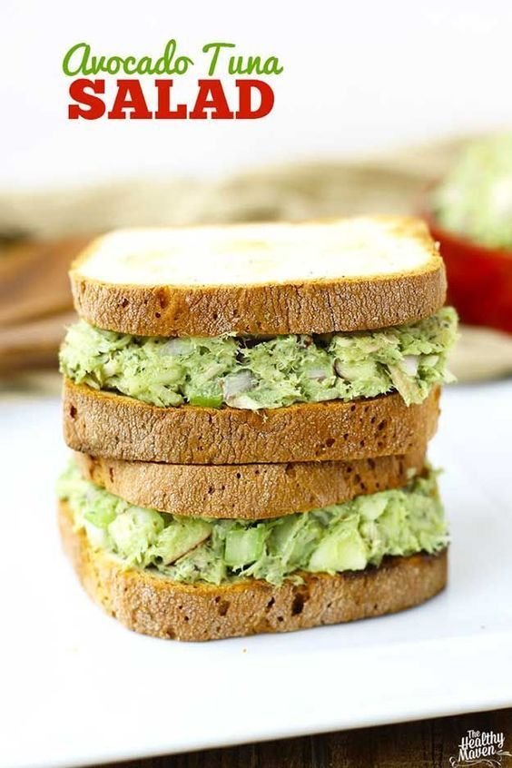 Healthy Lunches for Work - Avocado Tuna Salad - Easy, Quick and Cheap Clean Eating Recipes That You Can Take To Work - Weekly Meals That Are Great for Health Fitness and Weightloss - Low Fat Recipe Ideas and Simple Low Carb Meals That are High In Protein and Taste Great Cold - Vegetarian Options and Weight Watchers Friendly Ideas that Require No Heat - http://thegoddess.com/healthy-lunches-for-work