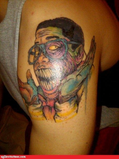 That's commitment, for ya... Zombie Urkle!