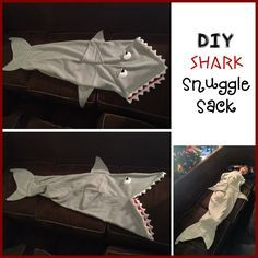 Ever since Theresa made Kira a mermaid tail, Logan has been asking me for a shark tail! Theresa and I have been trying to get together for months to create a pattern, but unfortunately life happene…