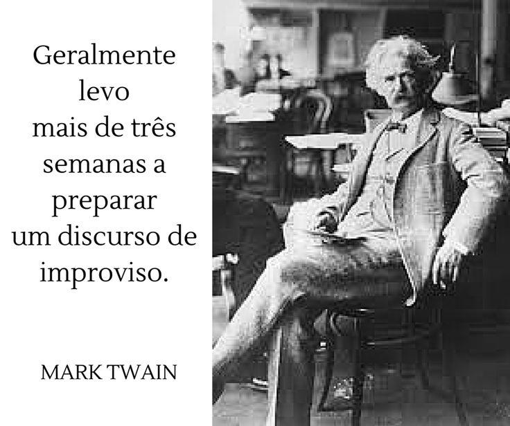 Mark Twain | Citação