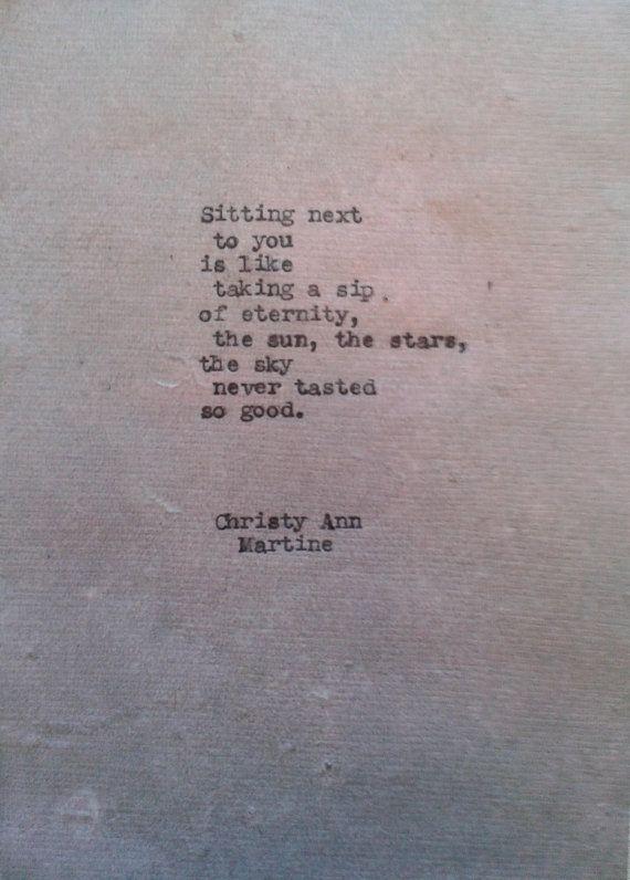 Eternity Poem on Purple Tone