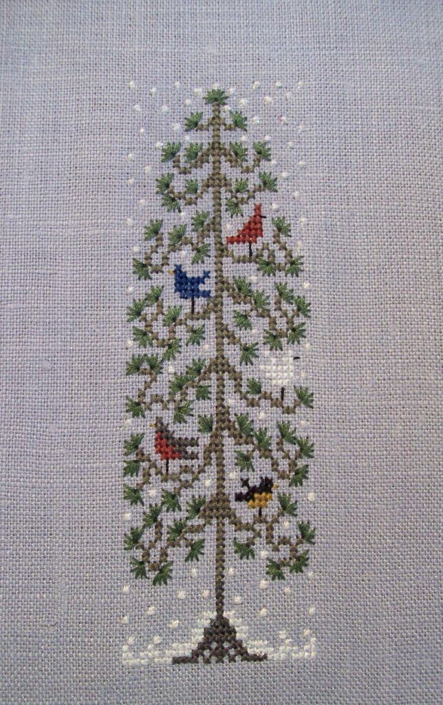 First Snow   Free Chart from Drawn Threads   Tana Ferguson   Flickr