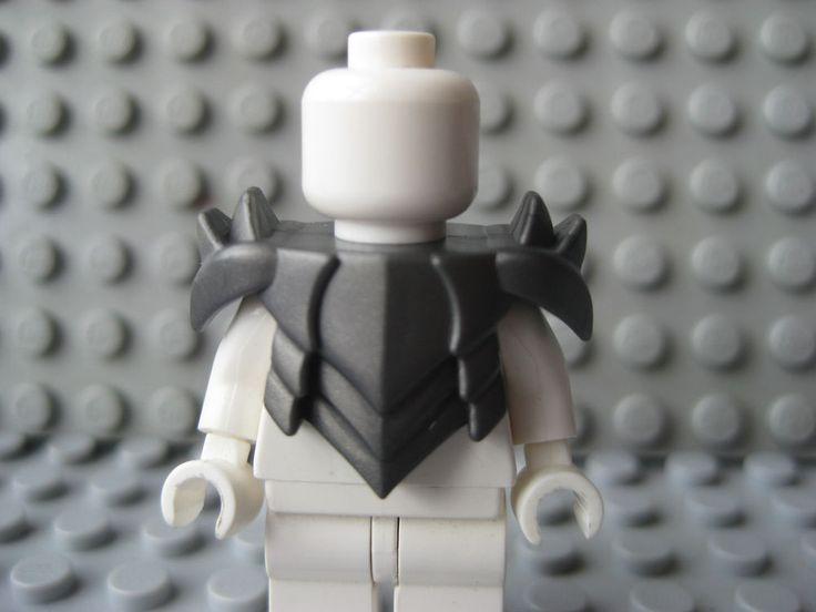 Custom Steel HORNED PLATE ARMOR for Lego Minifigures Castle LOTR Orc Assassin #LEGO