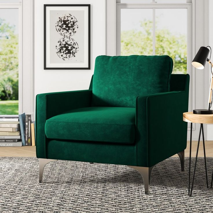 Elora Armchair (With images) Furniture, Green accent