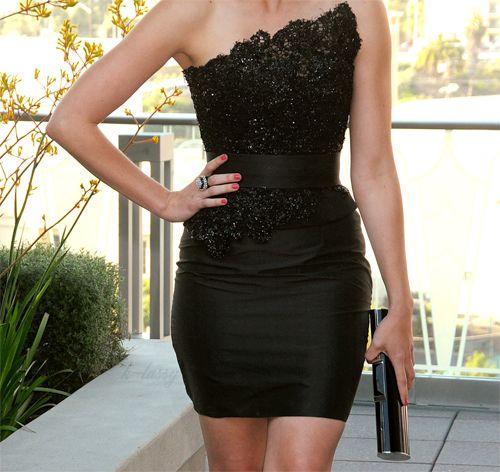 Little black dress// vestido negro