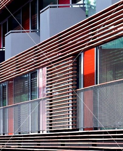 slatted timber panelling - Google Search