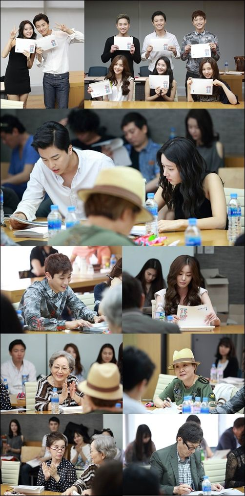 """Marriage Without Love"" Has First Script Reading"