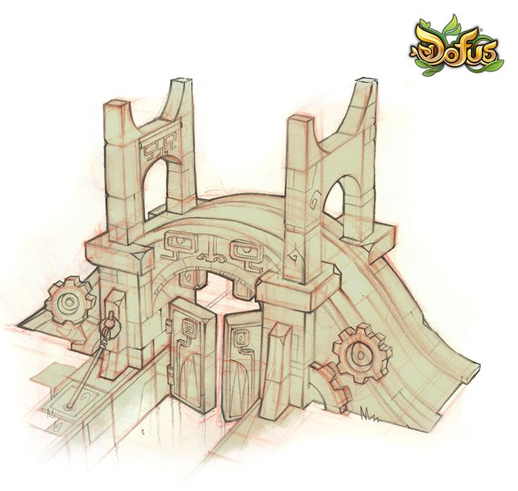 DOFUS RESEARCH - Incarnam sketches