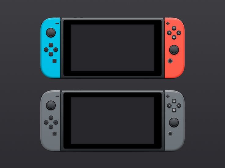 Nintendo Switch Sketch Illustration