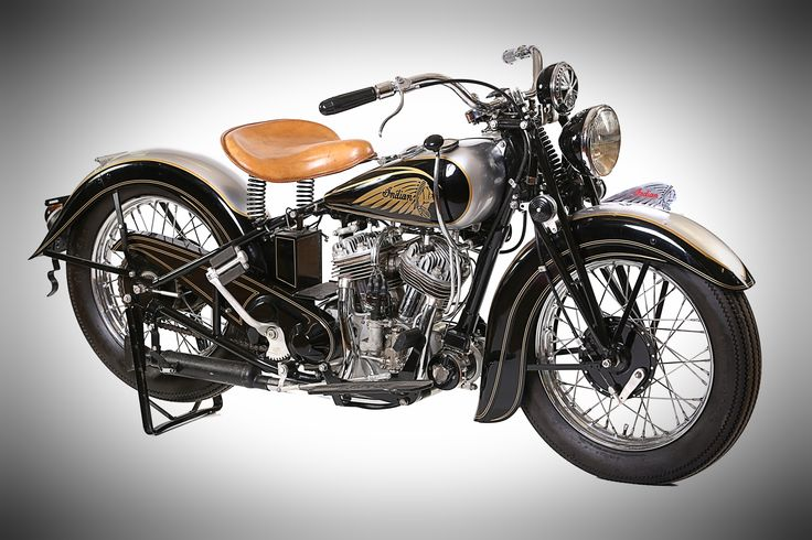1937 Indian Sports Scout on display at Classic Motorcycle Mecca, Invercargill, NZ. For more info visit transportworld.nz