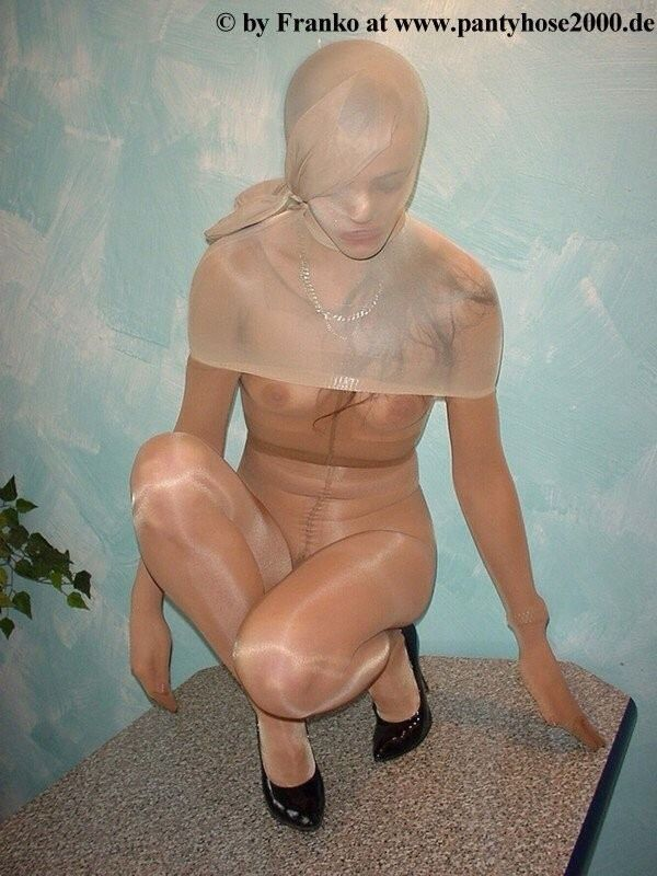 Pantyhose Encasement Passion & Cie