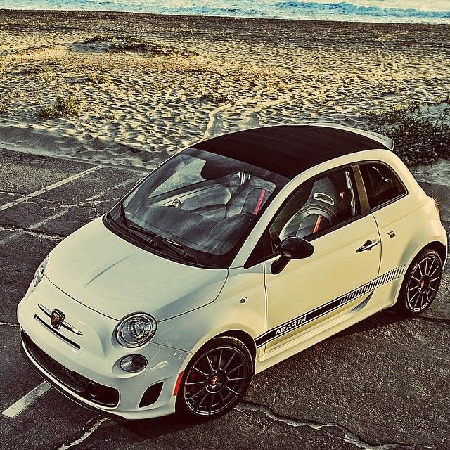 There's something about a person behind the wheel of an Abarth...Yeah, it's called being awesome.