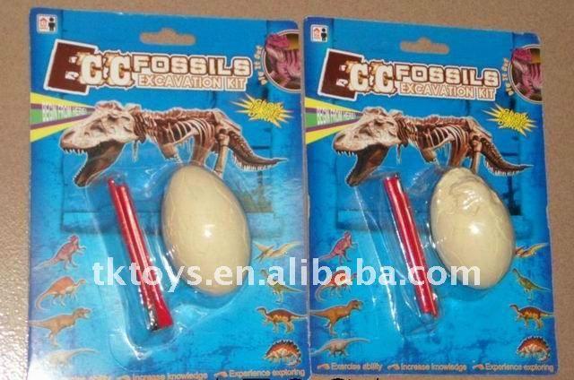 fossil dig toys | Escavar fósseis de dinossauro brinquedos-Plasticina-ID do produto ...