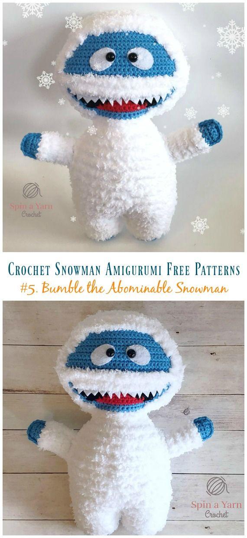 Crochet Snowman Amigurumi Free Patterns | Amirugumis | Ganchillo ...
