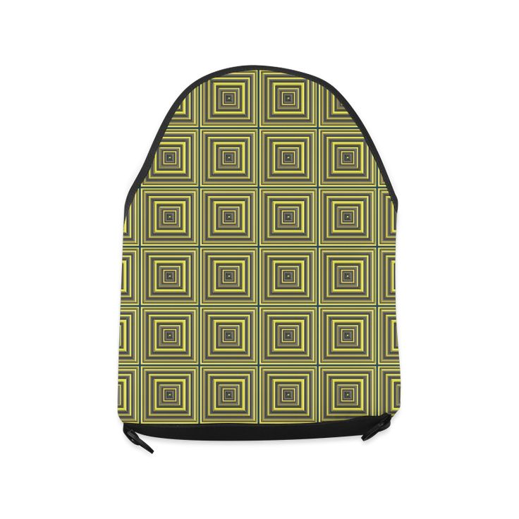 Square Tiles Crossbody Bag/Large (Model 1631)