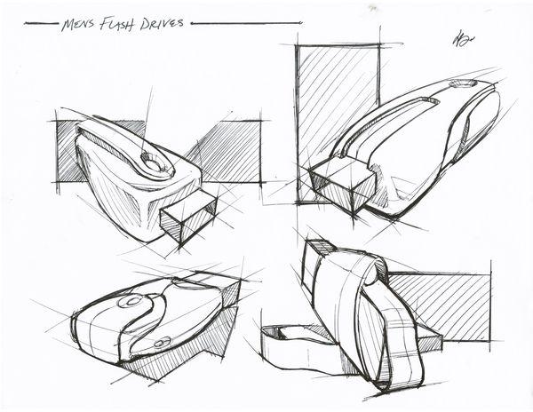Sketches by Brenton Nolan, via Behance
