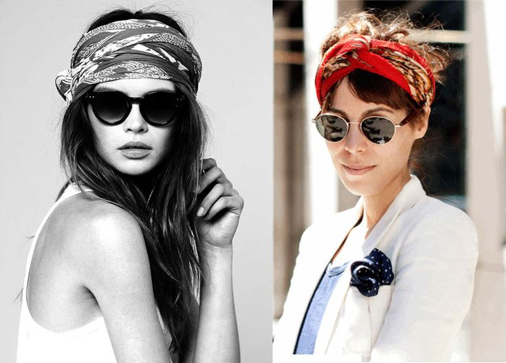 Turbans, bandanas, headscarves... how to wear them!