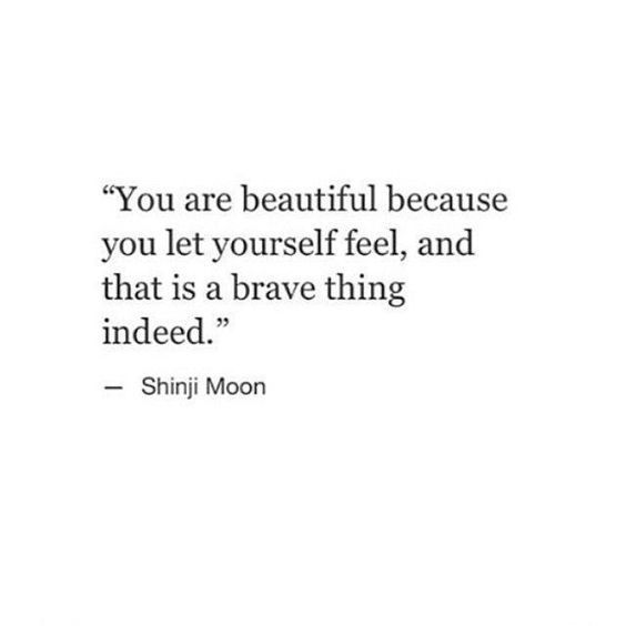 you are beautiful because.
